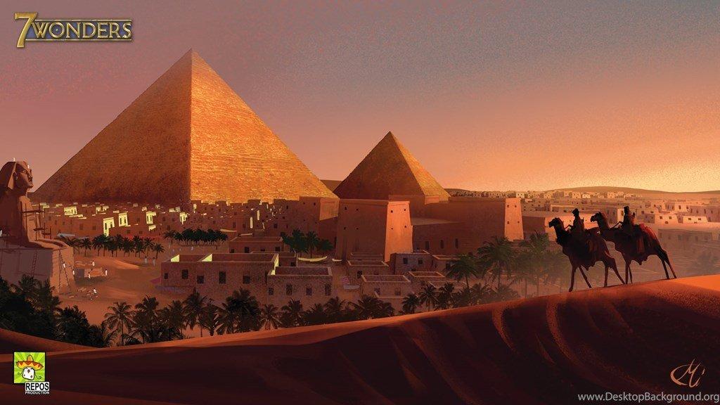 7 Wonders Pirámides
