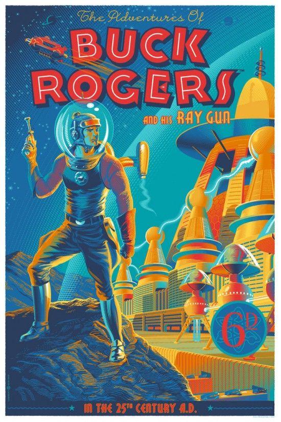 Portada de Buck Rogers