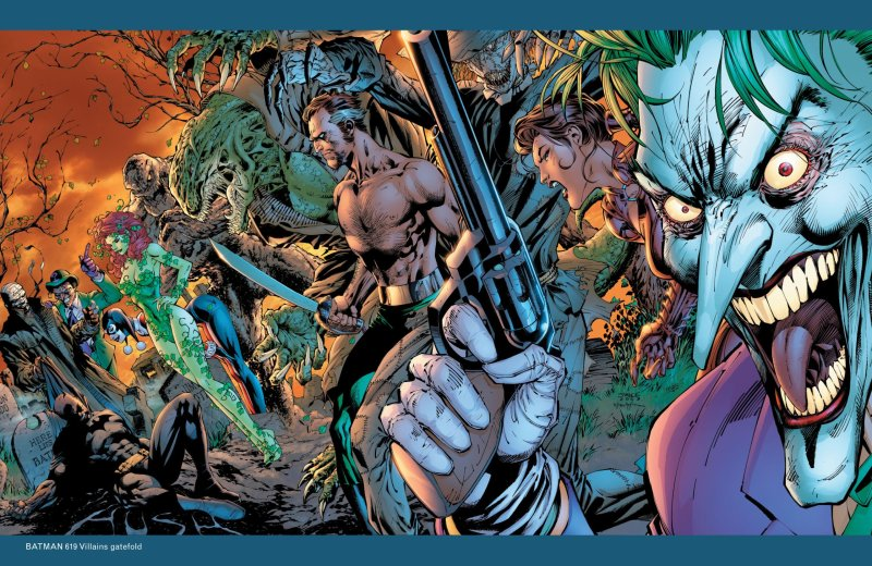batman Hush Joker Primer Plano