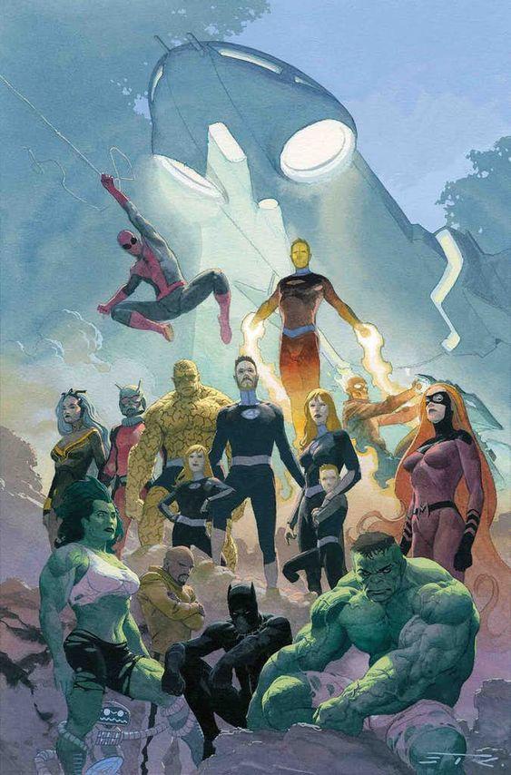 Fantastic Four Familia Extendida