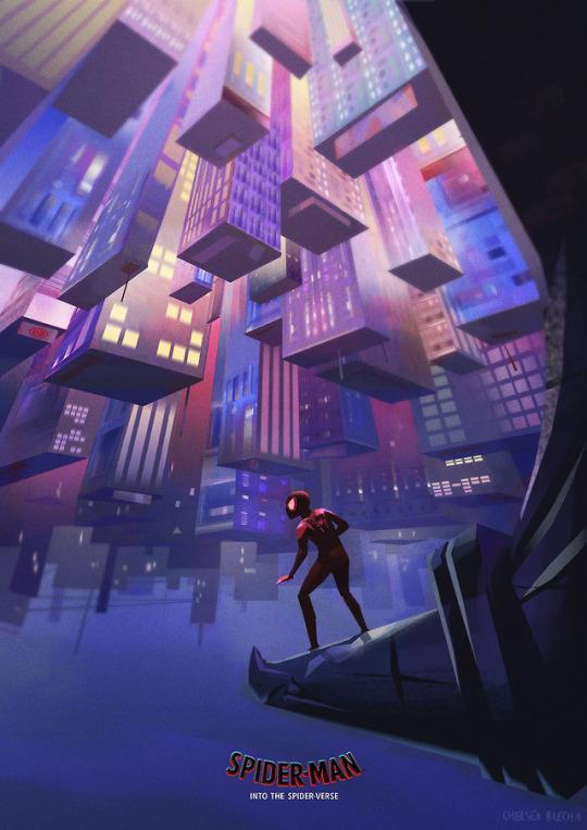 Spider-Man Into the Spider-Verse Dark Knight