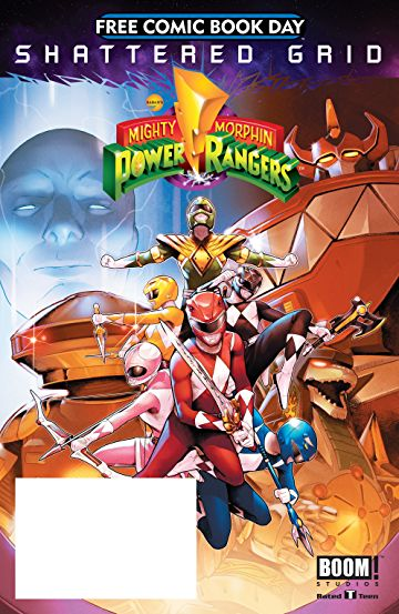 Free Comic Book Day 2018 - Mighty Morphin Power Rangers