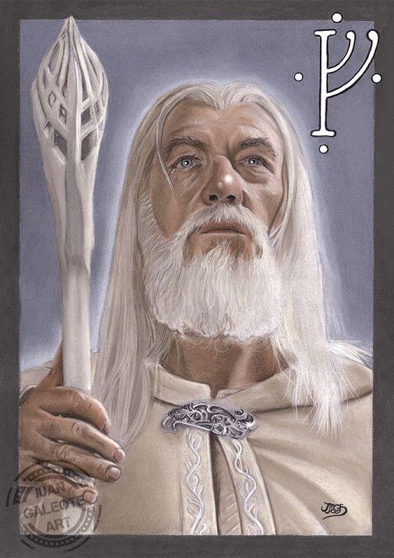 Gandalf por Juan Galeote