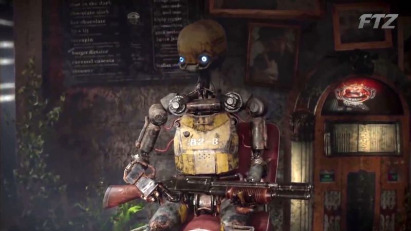 Mutant Year Zero Road to Eden Robot