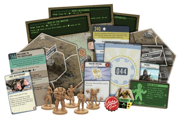 Fallout el Juego de Mesa Contenidos