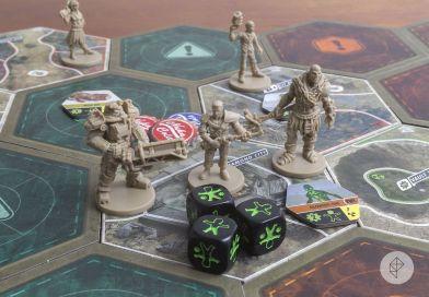Fallout el Juego de Mesa Personajes y Tablero