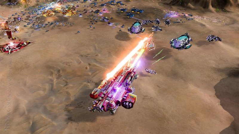 Ashes of the Singularity Escalation combate 2