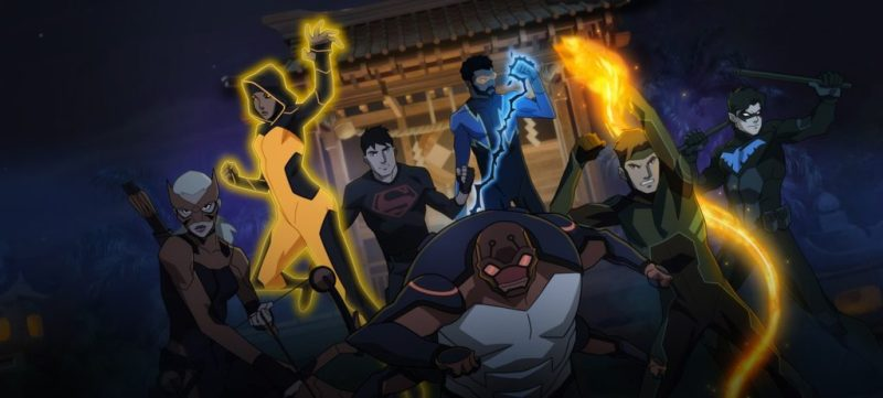 Young Justice Outsiders - Equipo