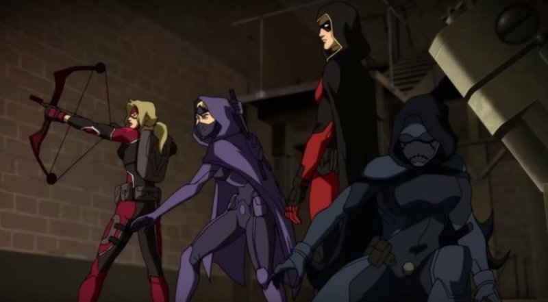 Young Justice Outsiders Equipo de Robin