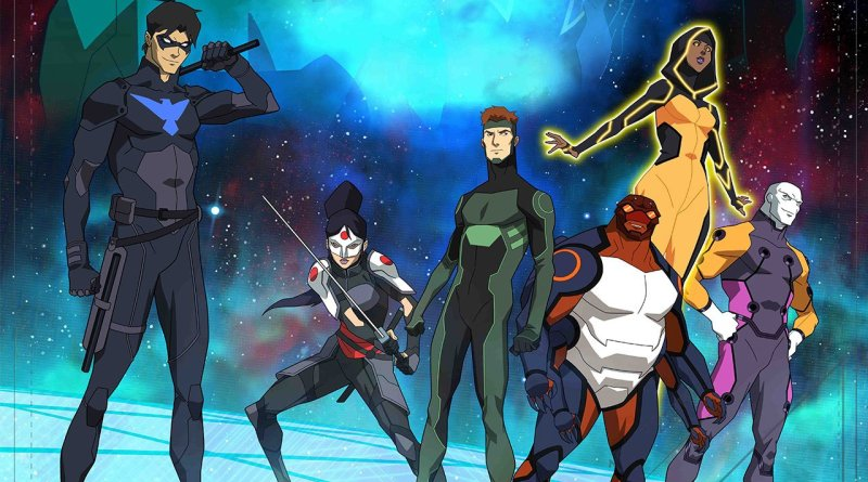 Young Justice Outsiders - Portada Amplia
