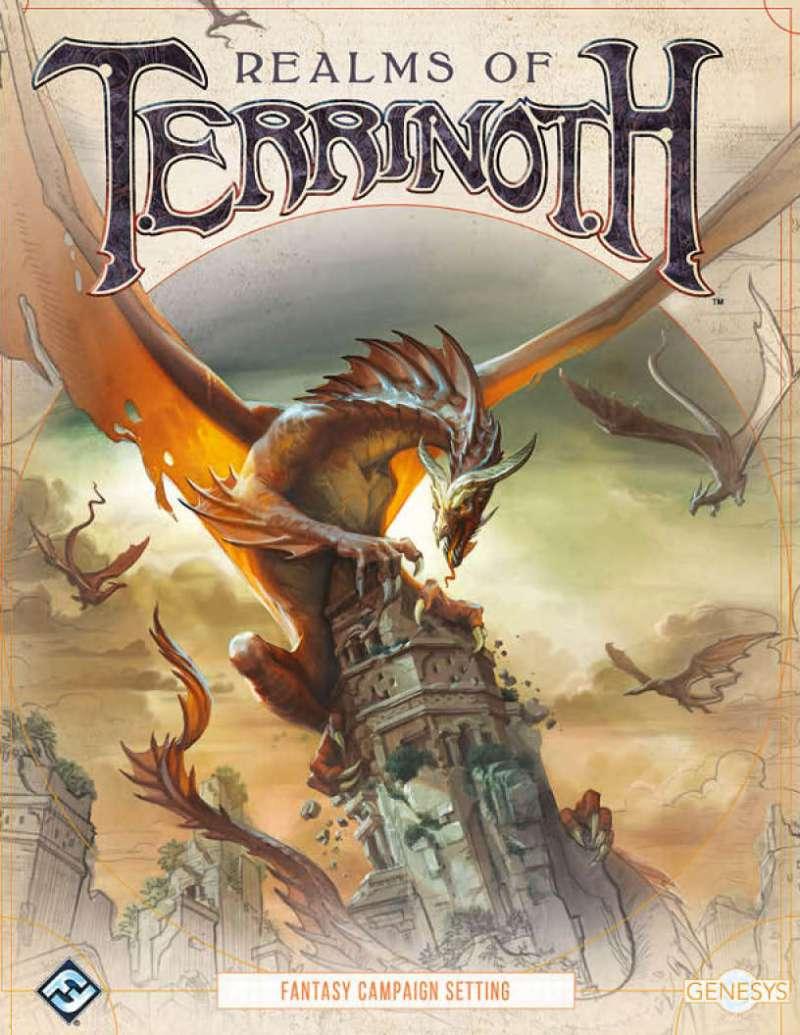 Realms of Terrinoth - Los Mejores Juegos de Rol del 2018