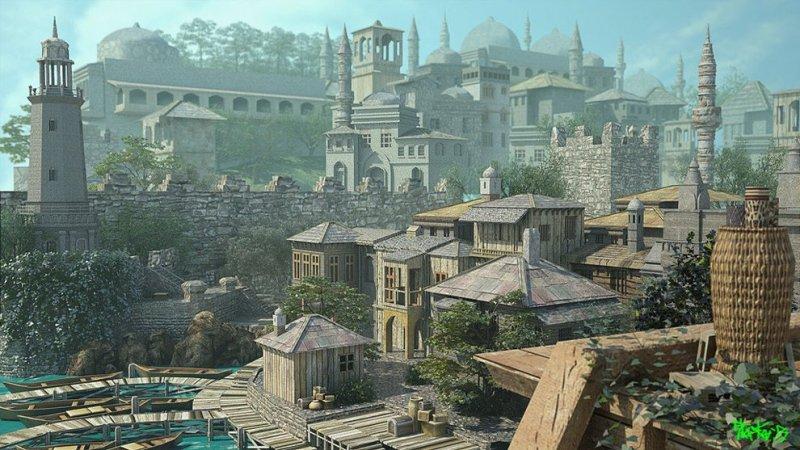 CASTLE OLDSKULL - Game World Generator - Ciudad Estado
