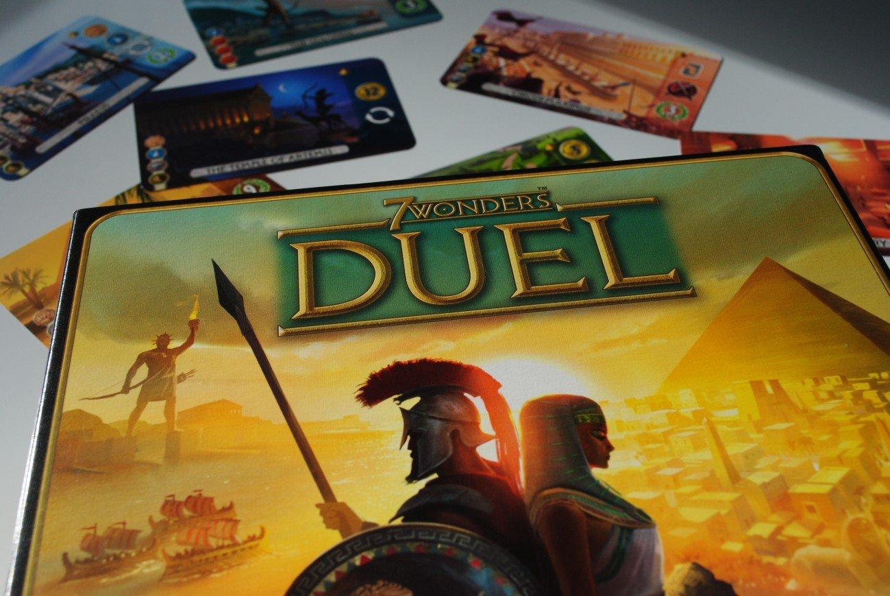 Los mejores juegos de mesa para dos jugadores – 7 Wonders Duel