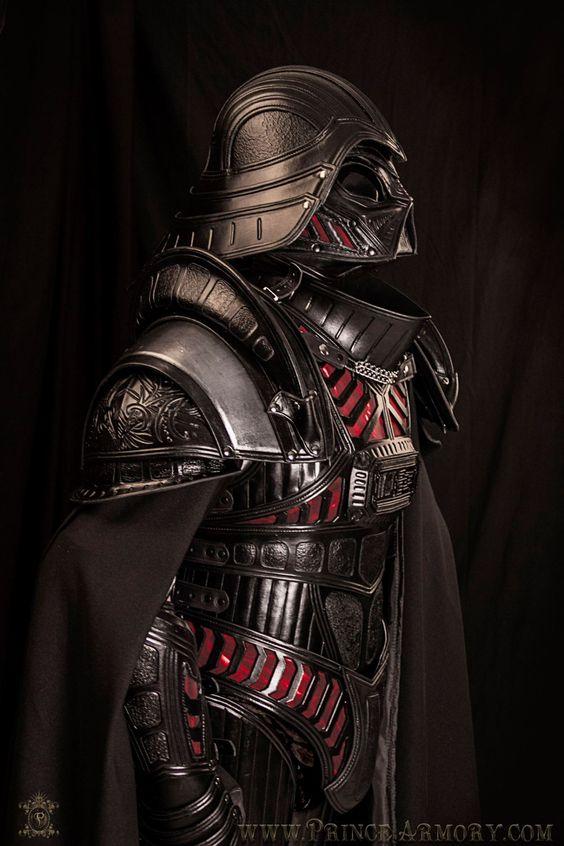 Armadura de Darth Vader en Cuero por Prince Armory
