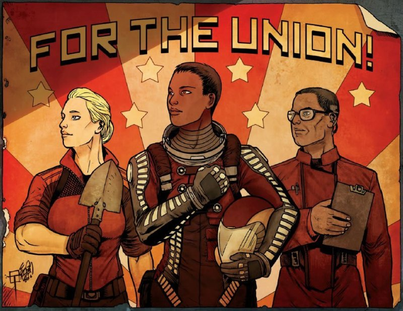 For the Union Red Planet