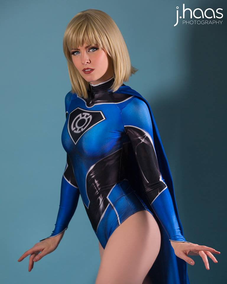 Maid of Might Blue Lantern Supergirl