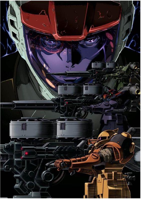 Gundam Thunderbolt Zaku Snipers
