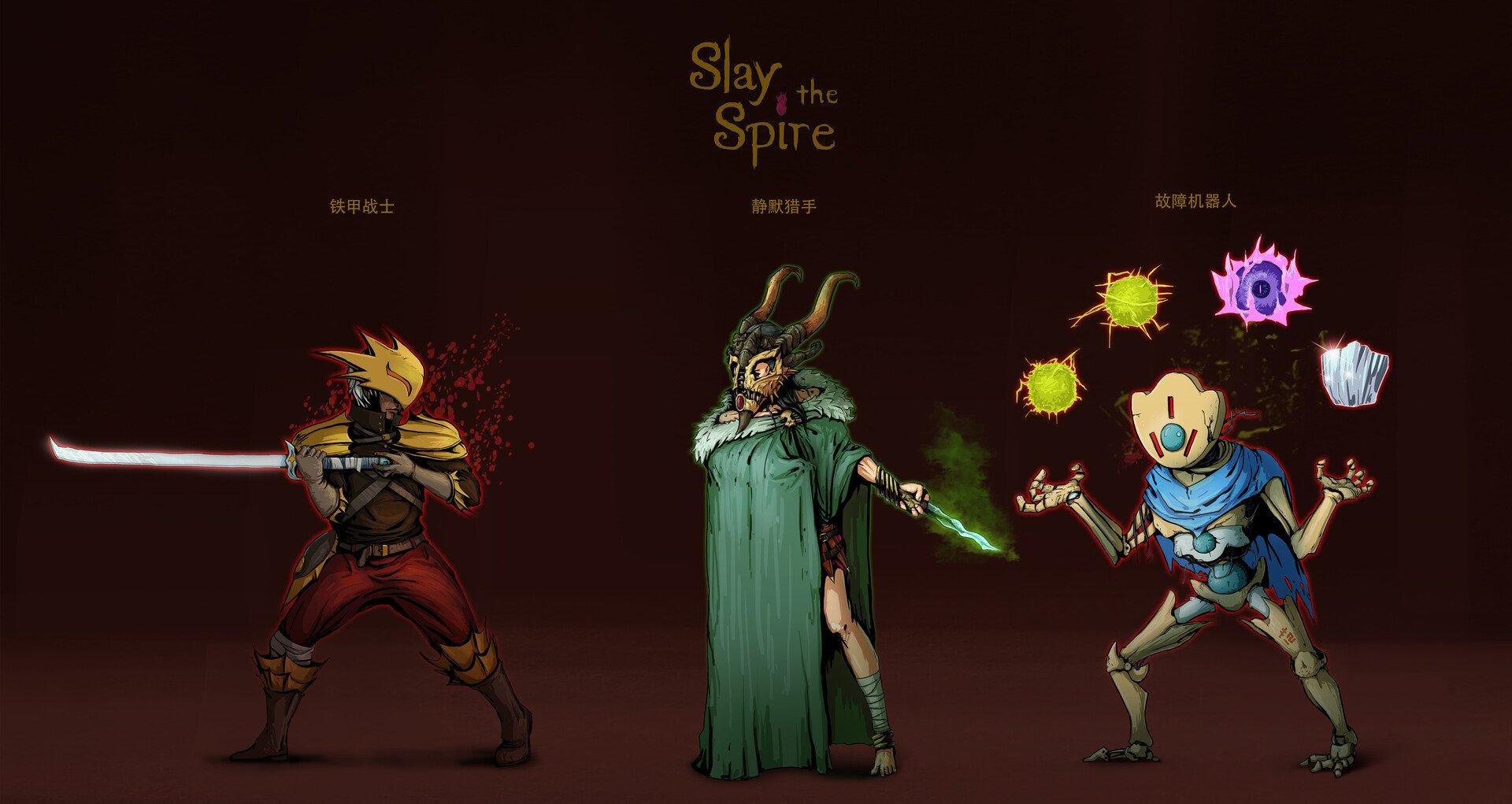 Slay the Spire Personajes