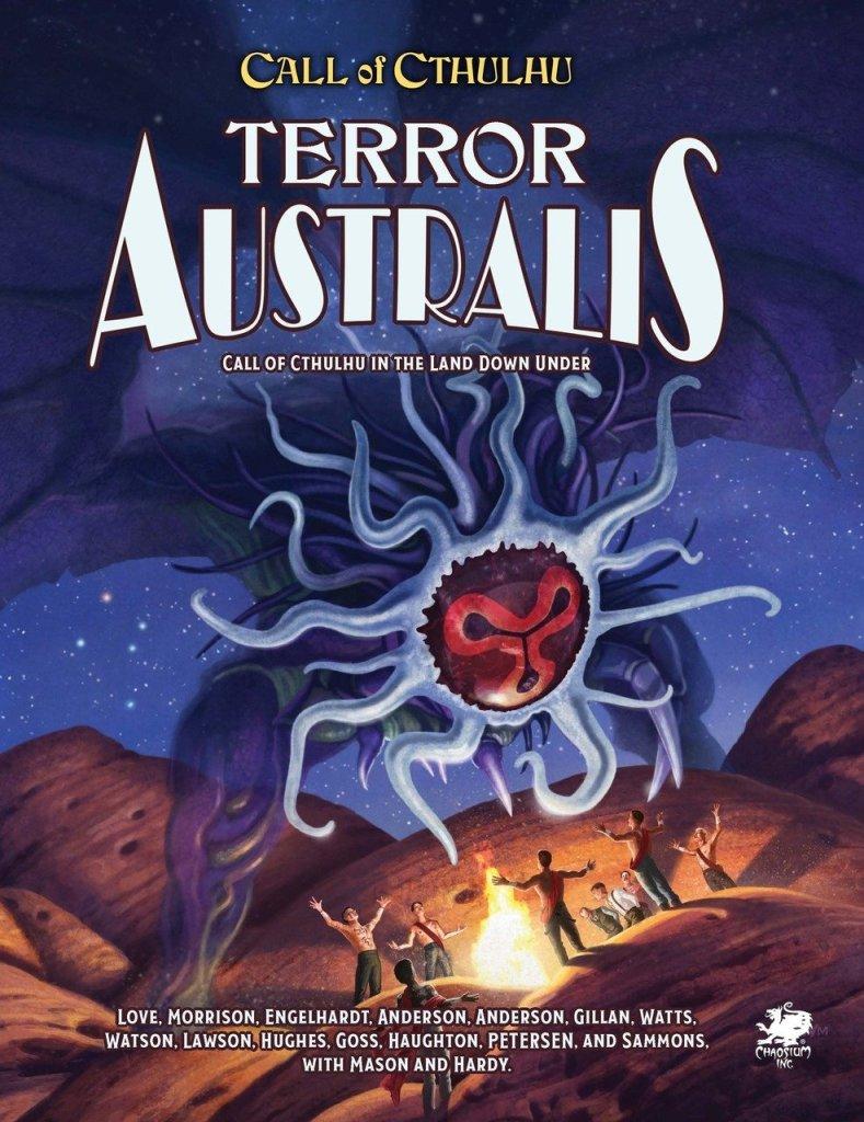 Terror Ausralis Ganador al Mejor Arte de Portada en los Premios ENnie 2019