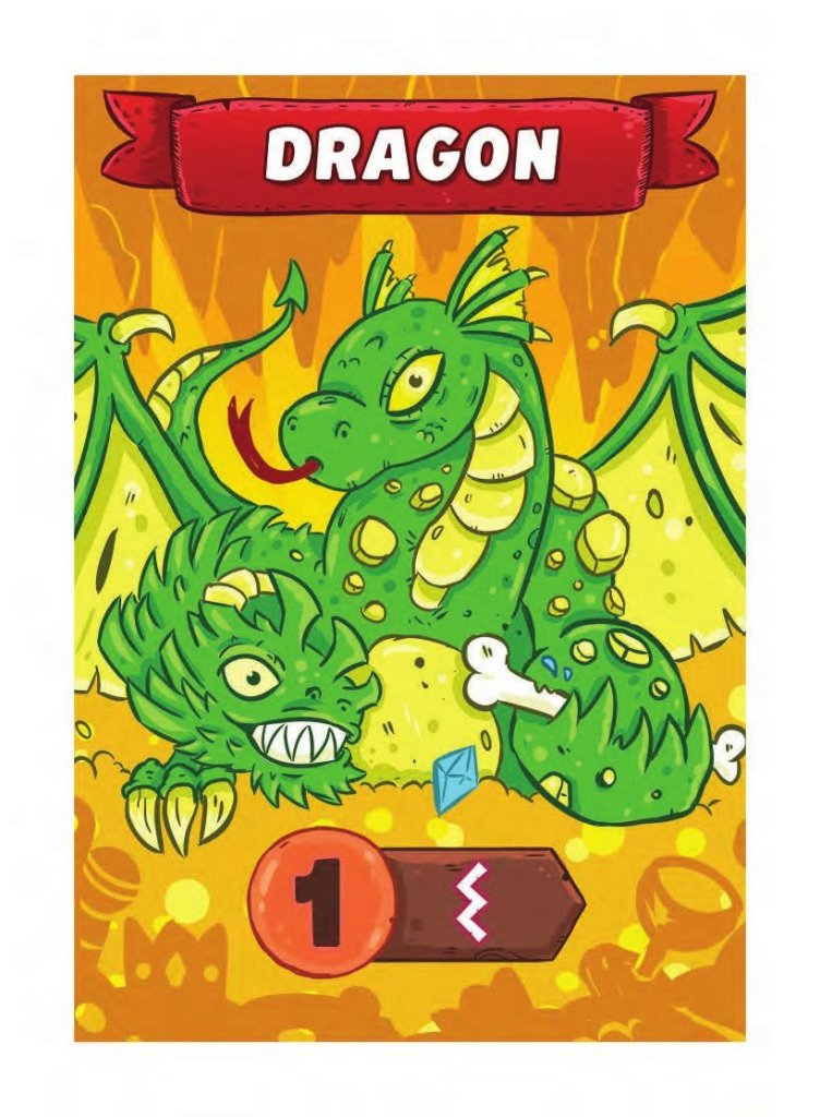 Card Story Journey Dragon