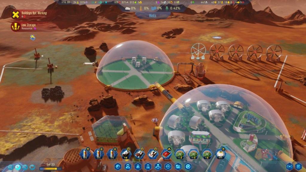 Surviving Mars Estética