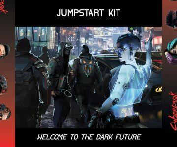 Kit de Inicio de Cyberpunk Red