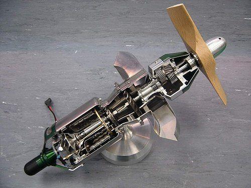 Motor a escala