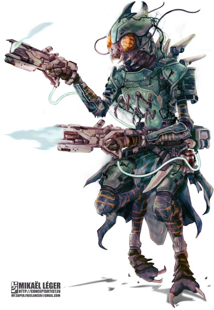 Starfinder Solarian Dark Armor