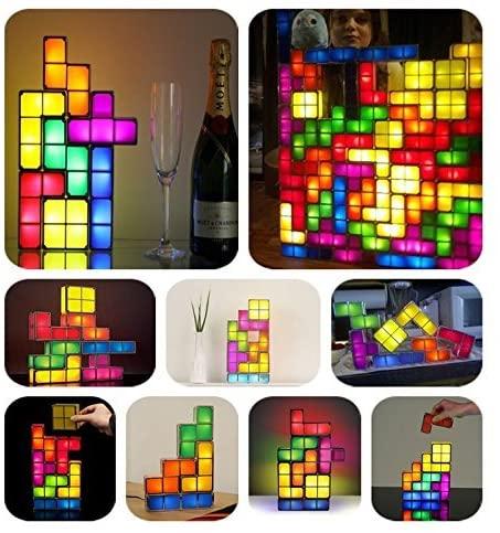 Lamparas Tetris