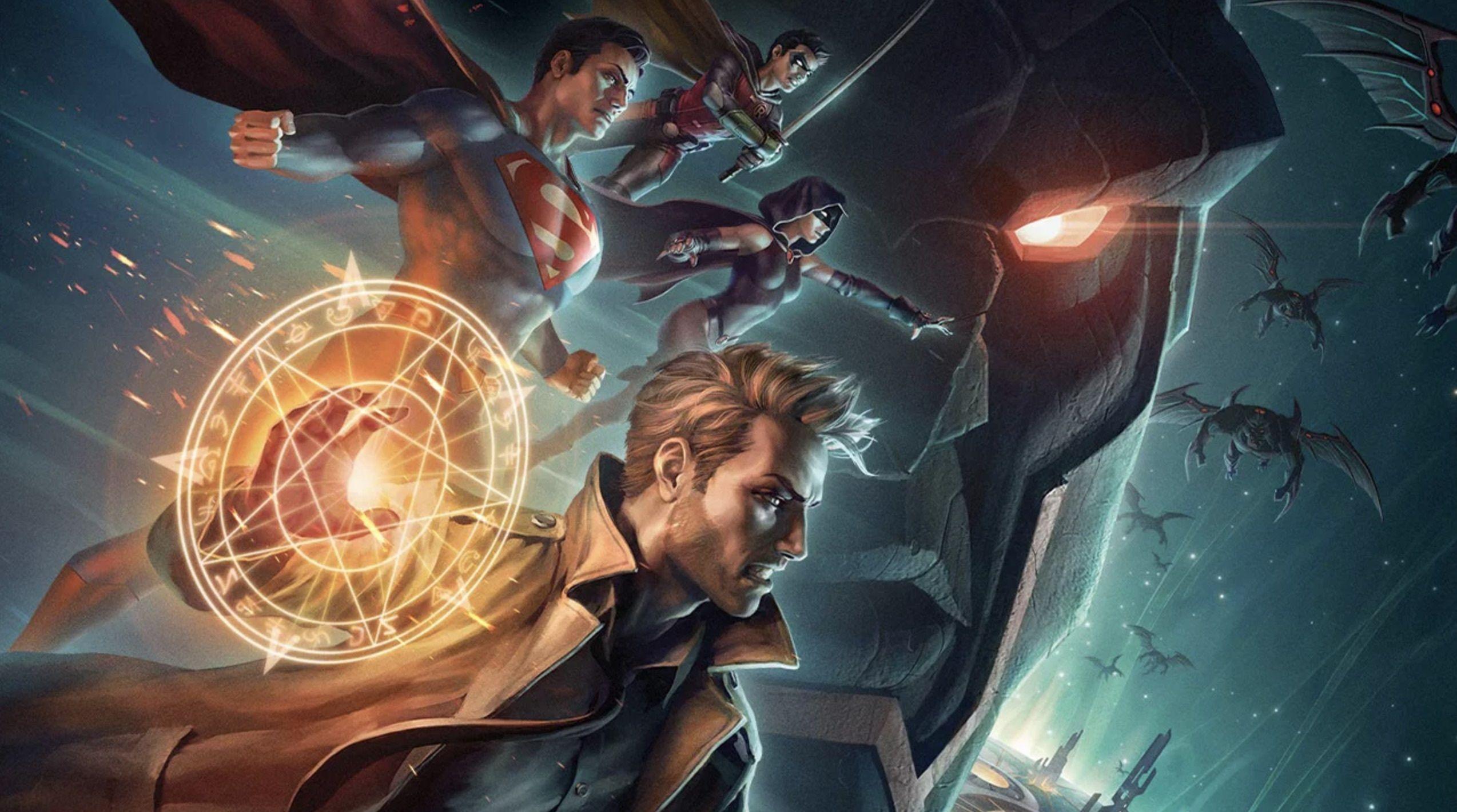 DC animated movie universe