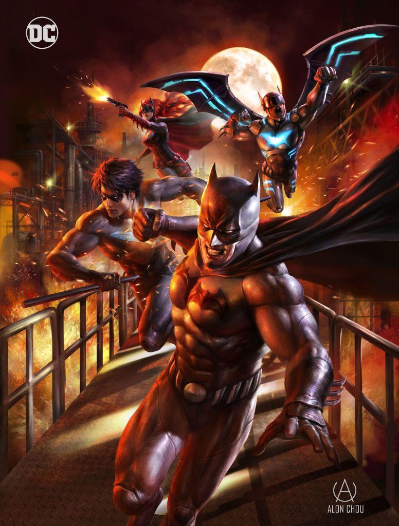 Batman Bad Blood Personajes