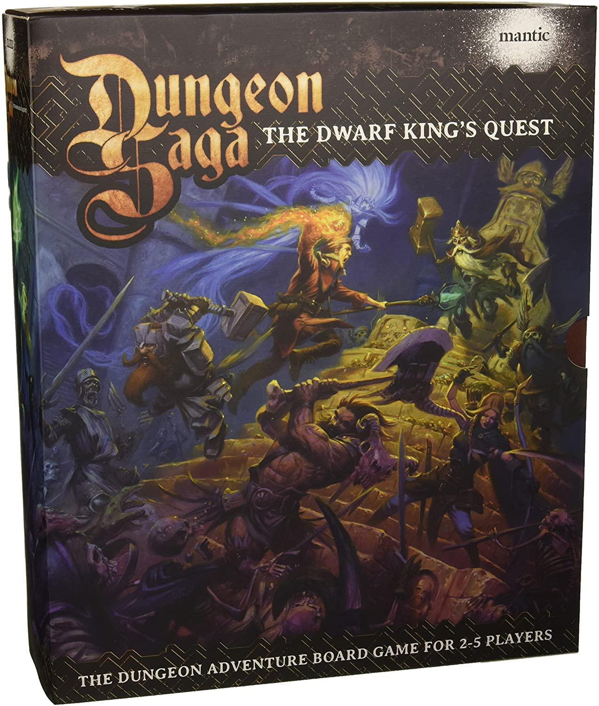 Dungeon Saga Portada