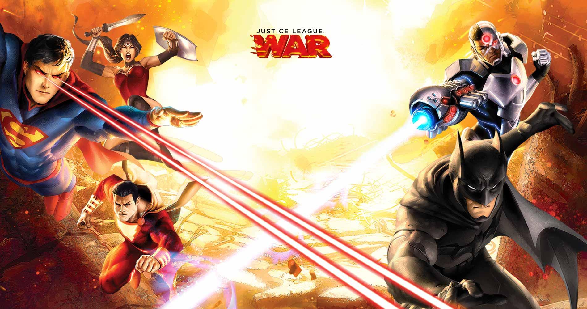 Justice League WAR Portada