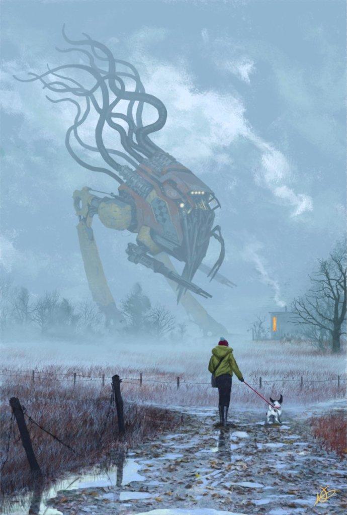 Ultramodern5 Redux Robot por Nick Greenwood