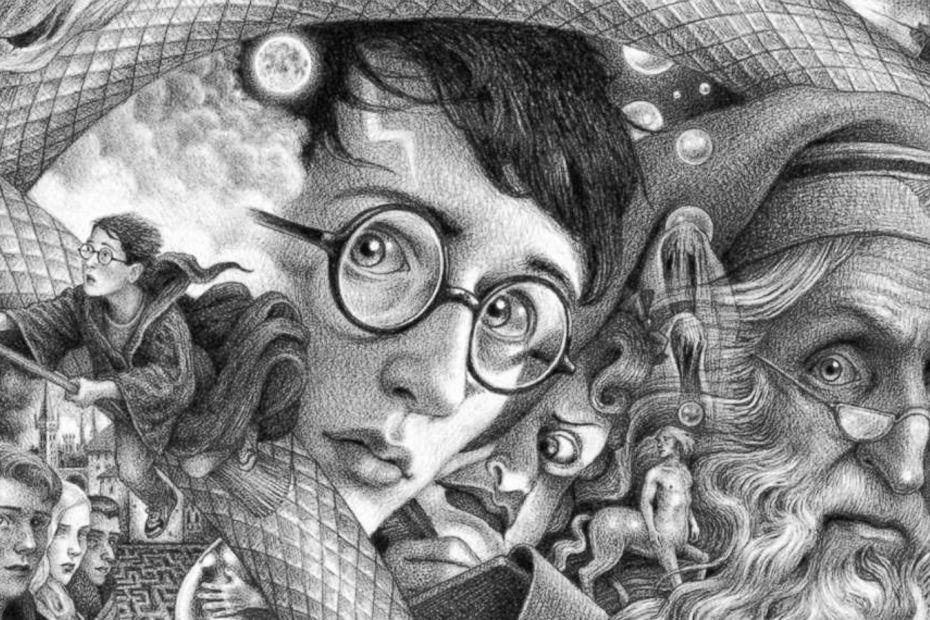 Portada de Harry Potter en el 20 Aniversario