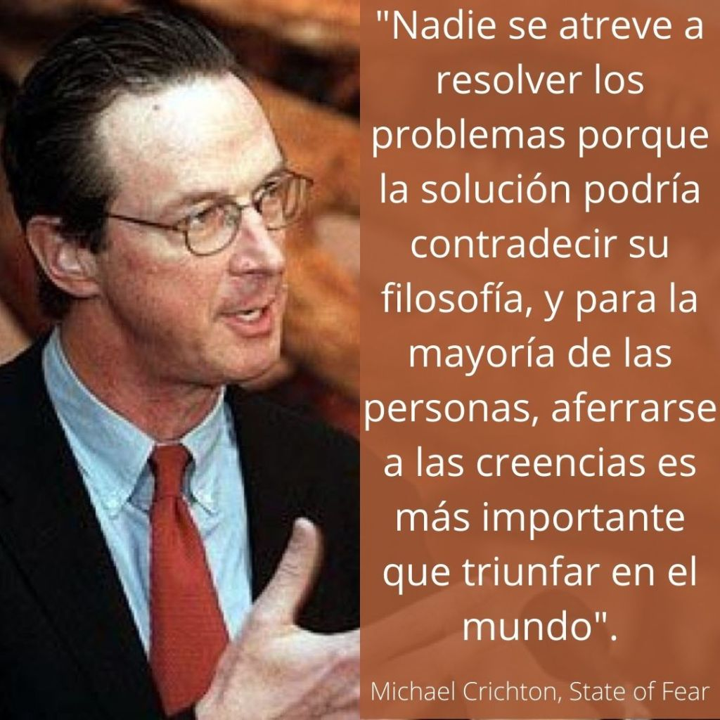 Michael Crichton Cita