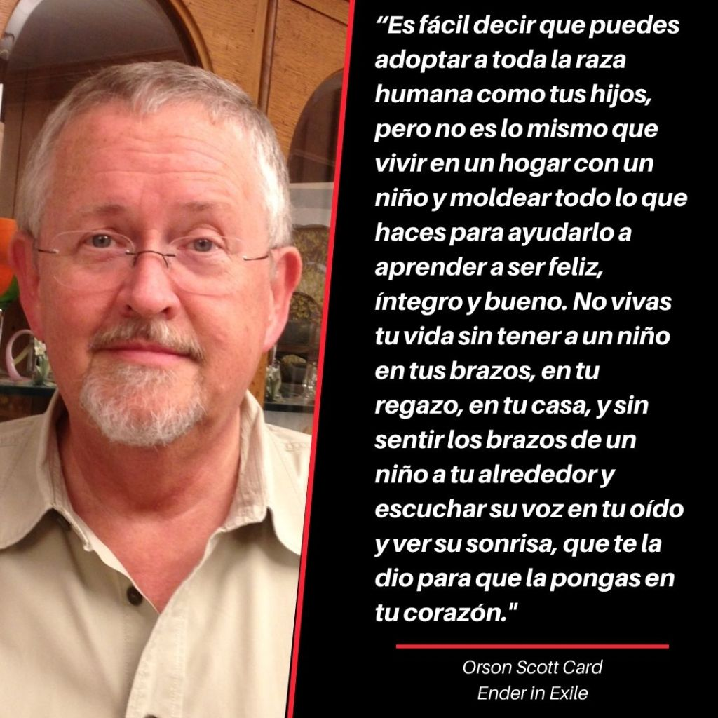 Orson Scott Card Cita