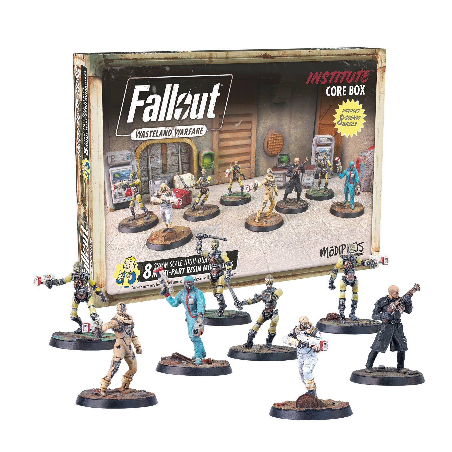 Fallout Wasteland Warfare Institute Core Box