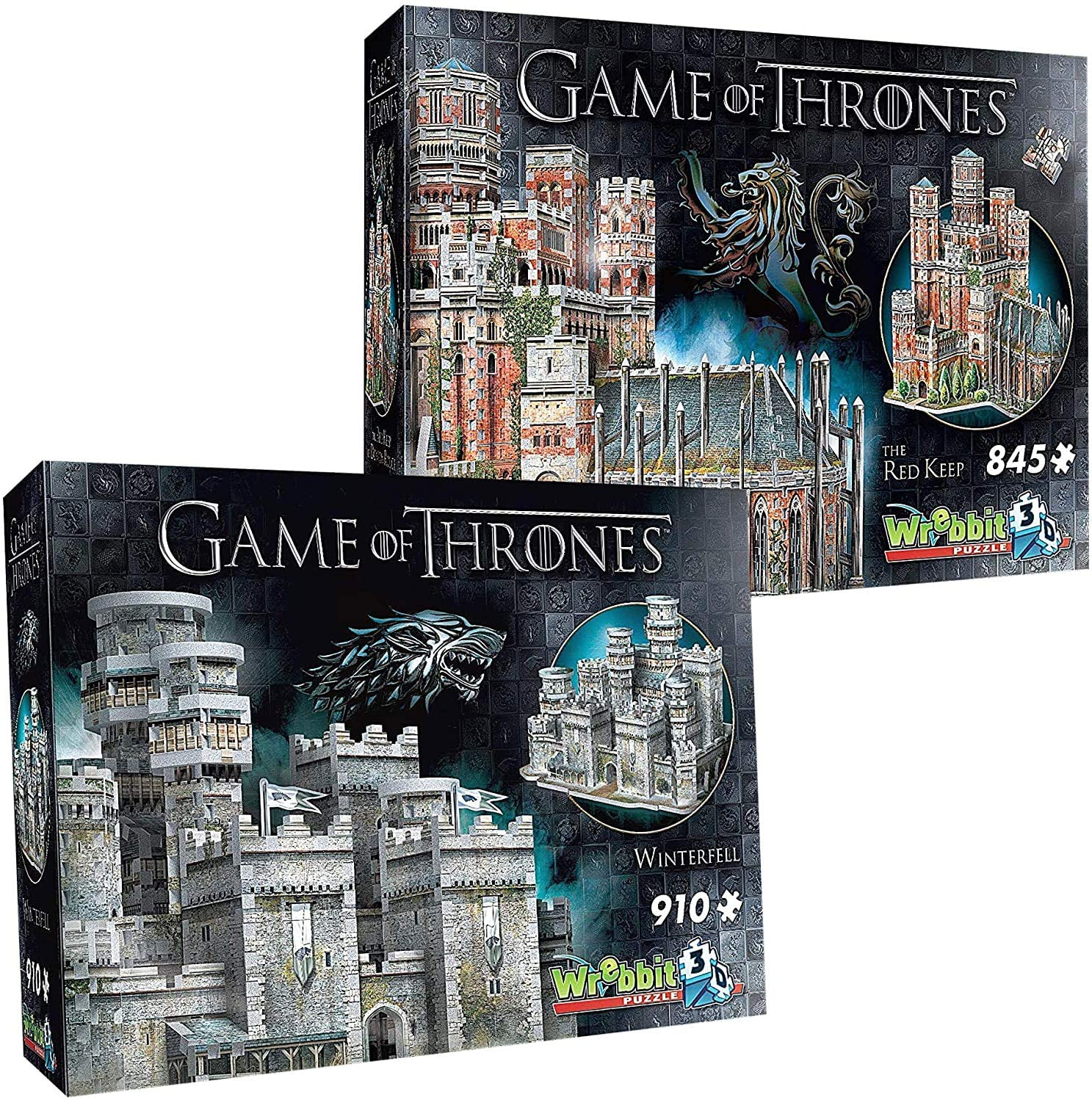 Winterfell Puzzle 3D