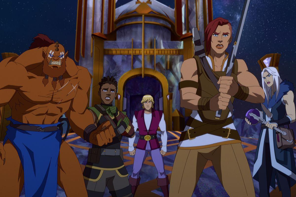 Masters of the Universe Revelation Personajes