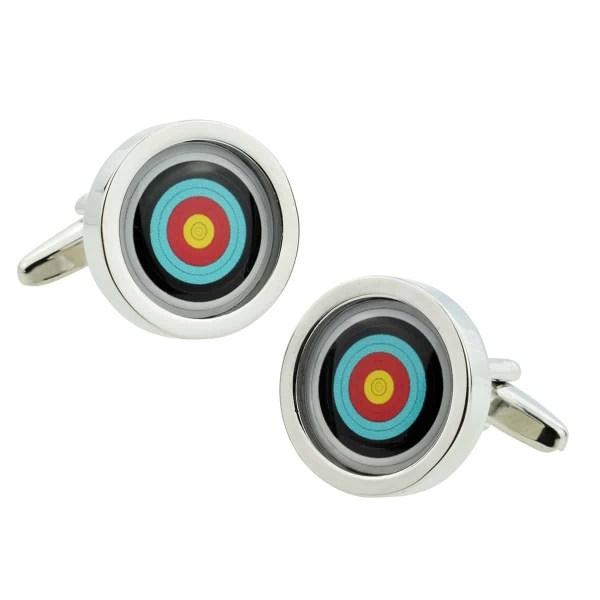 Archery Or Target Sport Inspired Cufflinks