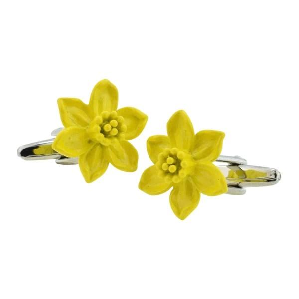 Welsh Daffodil Cufflinks
