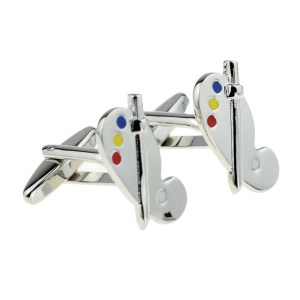 Artists pallette cufflinks