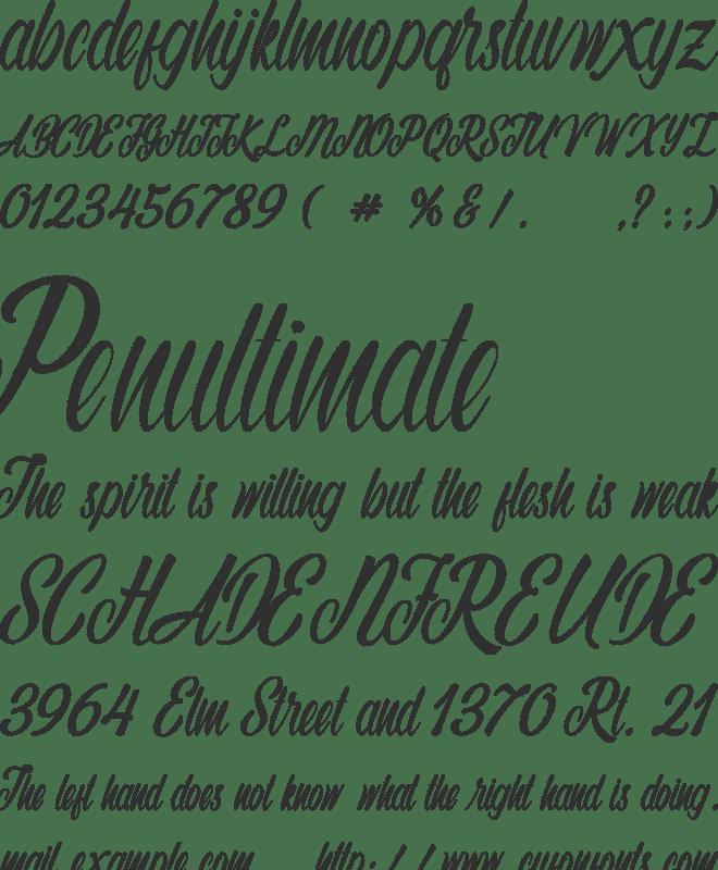 Autumn Flower Font Family : Download Free for Desktop