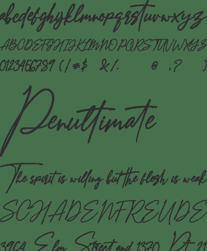 Amostely Signature Font : Download Free for Desktop & Webfont