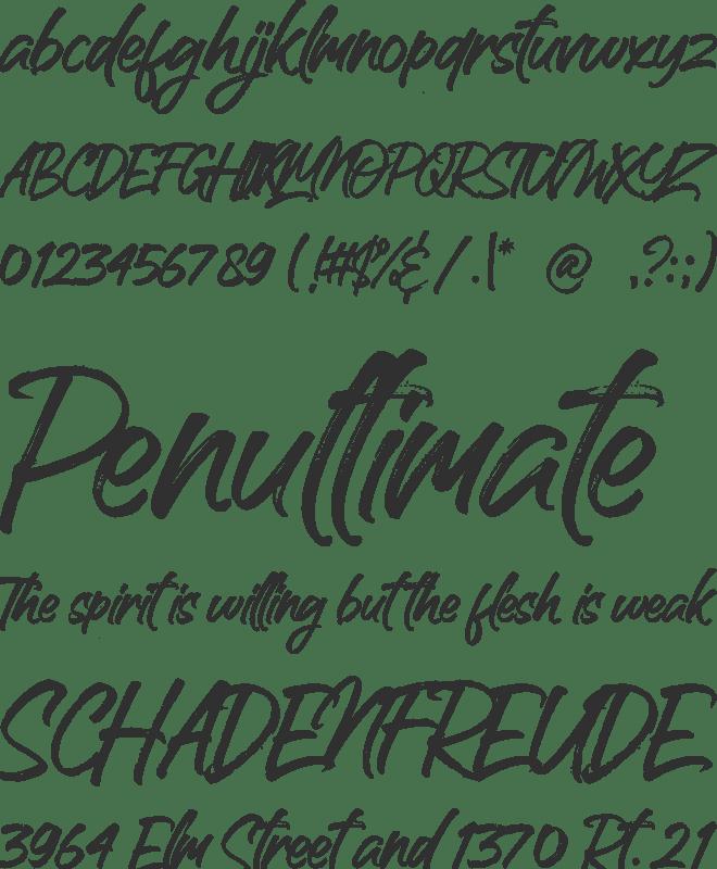 Handscript Font : Download Free for Desktop & Webfont