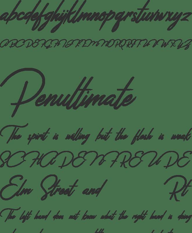 Jefinian Script Font : Download Free for Desktop & Webfont