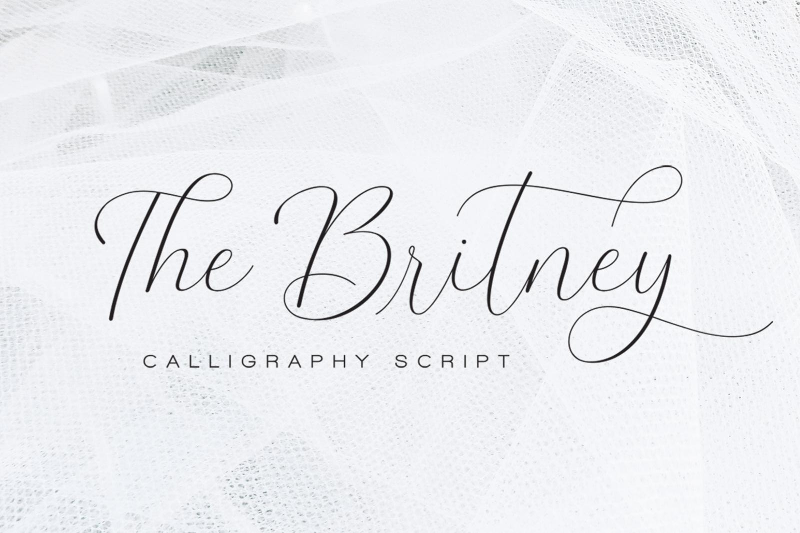The Britney Font : Download Free for Desktop & Webfont