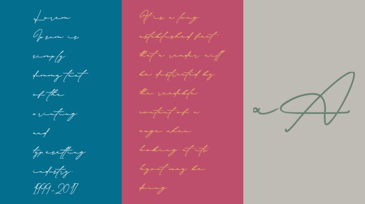 Download Signature Collection Font : Download Free for Desktop ...