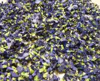 Secado de violetas